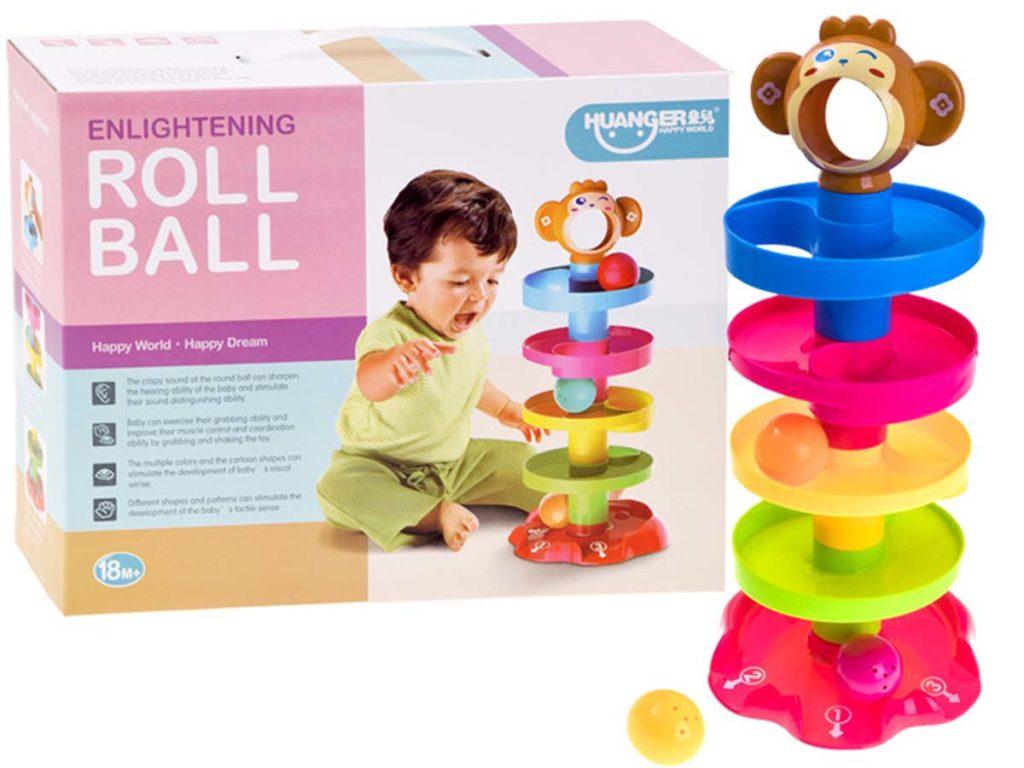 Spēle - Roll ball maziem bērniem, bērnu rotaļlietas