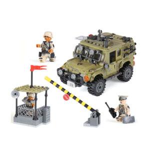 konstruktors džips lego, bērnu rotaļlietas
