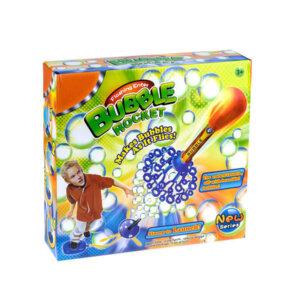 ziepju burbuļu raķete