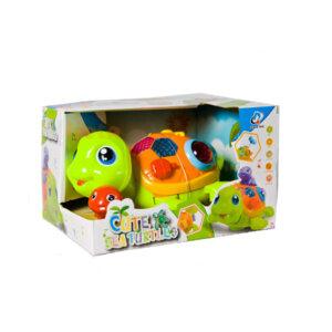 Rotaļu Bruņurupuči Cute sea turtles green, rotaļlieta mazam bērnam