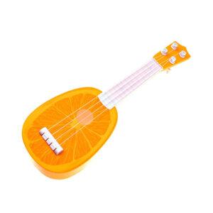 bērnu rotaļu ģitāra apelsīns