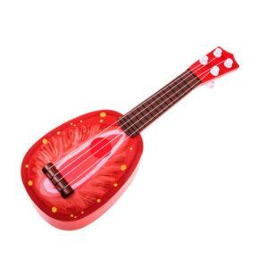 bērnu rotaļu ģitāra zemene