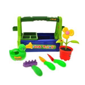 rotaļu dārza instrumentu komplekts bērniem