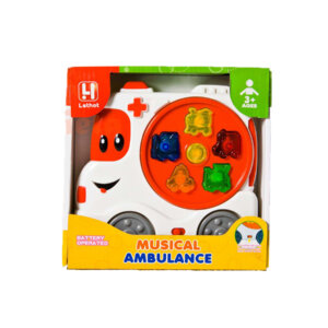 Rotaļlieta Musical car lethot ambulance