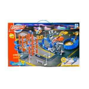 Radiovadāma mašīna-konstruktors – Mechanical master 2in1Lelle karietē – Carriage a fashion fairytale Rotaļu Auto Trase Orbital Racing Station