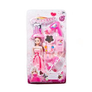 Rotaļlieta Lelle Princess play sst pink