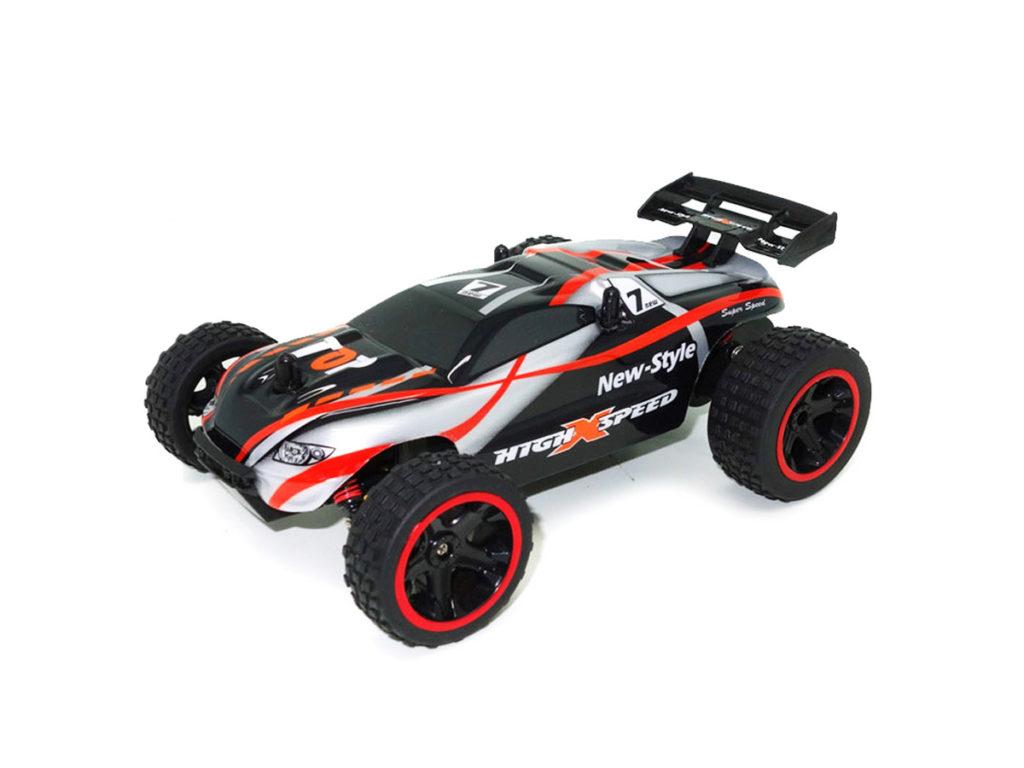 Rotaļlieta bērnam, Radiovadāma mašīna ar pulti Speed Racing Buggy Black