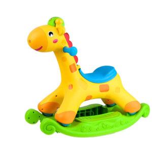 детская качалка - Rockin tunes Giraffee
