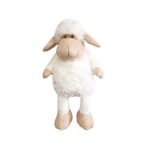 Mīkstās rotaļlietas bērniem, plīša mugursoma aitiņa