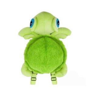 Mīkstās rotaļlietas bērniem, plīša mugursoma bruņurupucis