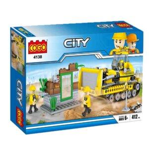 Bērnu konstruktors Cogo, lego analogs