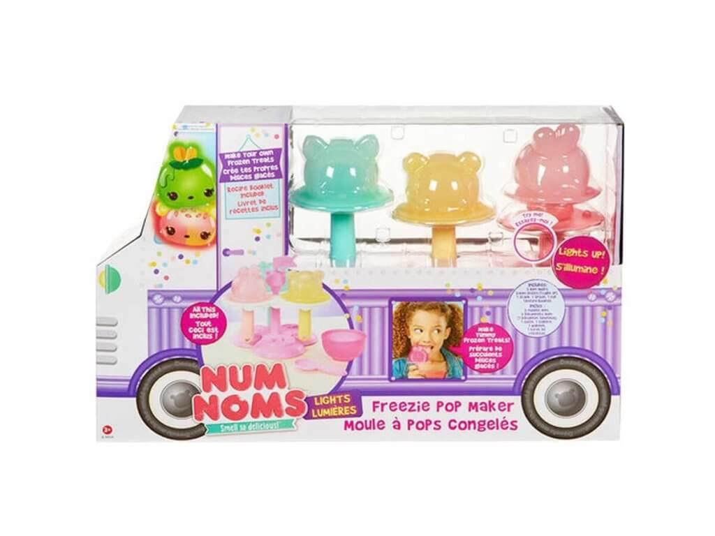 Mga Num Noms, rotaļlieta bērniem,saldējums,Freezie Pop maker
