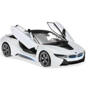 BMW i8, radiovadāma mašīna, tālvadības vadība, automātiski paceļamas durvis