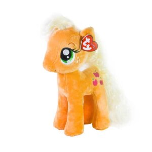 My little pony,AppleJack, TY toy, mīkstā rotaļlieta,multfilmas varonis