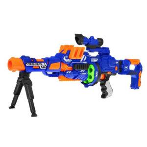 детское оружие с мягкими шариками