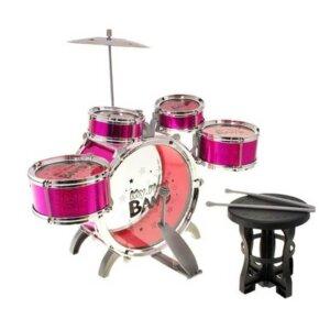 Muzikālie instrumenti bērniem, bungas meitenēm, rotaļlietas bērniem.