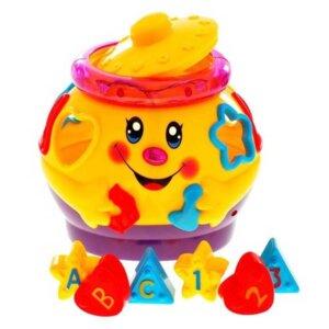 Muzikālais podiņš, rotaļlietas mazuļiem, attīstošas rotaļlietas bērniem, muzikālas rotaļlietas.
