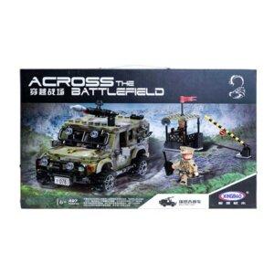 Kaujas mašīnas konstruktors,liels konstruktors,Jeep militārā mašīna,lego analogs
