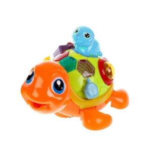 rotalietas ruņurupuči Cute sea turtles orange,Busy board toy,aktīvais dēlis,rotaļlieta pašiem mazajiem