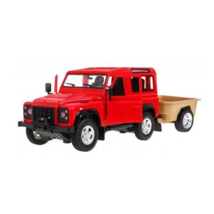 Rastar Land Rover, radiovadāma rotaļlieta,RC mašīna, land roverarpiekabi, mašīna ar piekabi