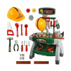 bērnu darbarīku komplekts,bērnu instrumentu komplekts,simulācijas spēle, lomu spēle,rotaļu darbarīki, celtniecības priekšmeti, rotaļu darbnīca