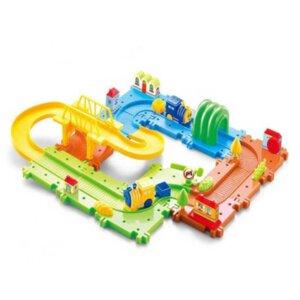 Bērnu rotaļu vilcieniņš, vilcieniņa komplekts, rotaļlietas bērniem, spēļu komplekti.