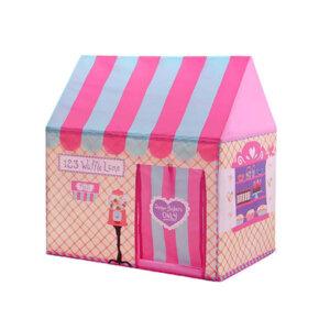 bērnu mebeles, rotaļlietas meitenēm, bērnu telts - māja.