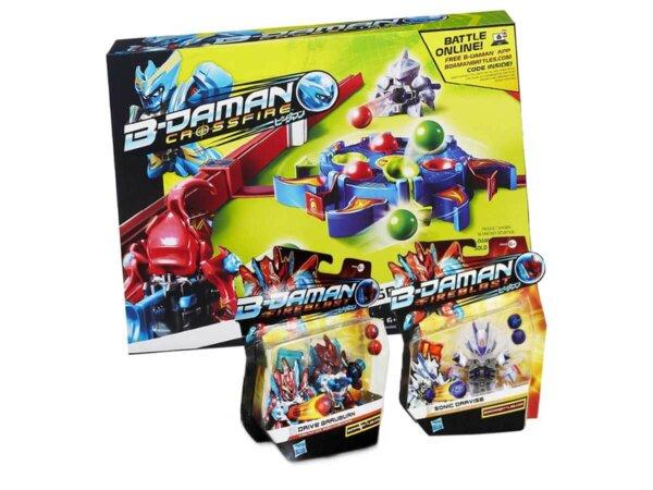 Bērnu seriāla varoņi, Bīdemani,B-Daman game, TV varoņu spēle, Marbles, spēle ar lodēm, aktīvā spēle, spēle diviem bērniem. Attīstošās rotaļlietas zēniem.