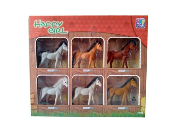 Rotaļu zirgi,zirgu komplekts,komplekts bērniem,rotaļlieta rīgā,bezmaksas piegāde rotaļlietai,samtaini zirgi,bērs zirgs