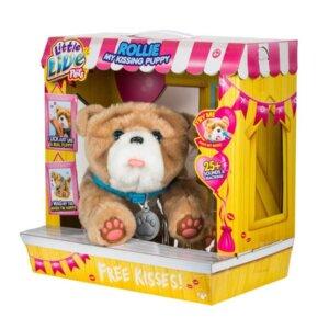 Interaktīvas rotaļlietas bērniem, rotaļlietas meitenēm, suns rollie, little live pets rotaļlietas.