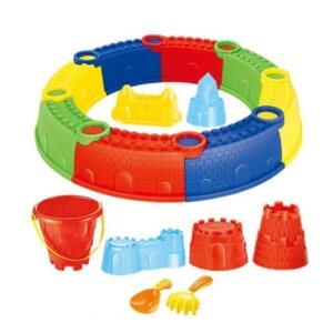 Bērnu smilškaste. smilškate ar formiņām, āra smilškaste, Rotaļlietas smilšu kastei, rotaļlietas bērniem.
