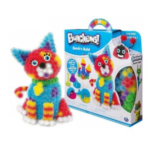 Spin master Bunchems, radošais bērnu dadžu komplekts, bērnu rotaļlieta, dadžu konstruktors, oriģinālā Spin Master rotaļlieta