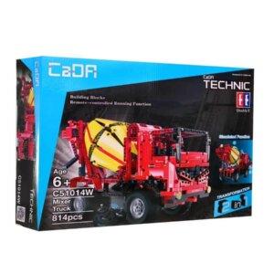 rotaļlietas bērniem, radiovadāma mašīna, konstruktors betona maisāmā mašīna.