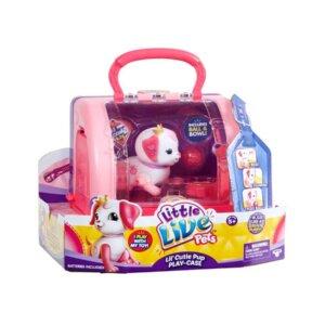 Little Live Pets bērnu rotaļlieta, rotaļu interaktīvais komplekts, rotaļu kucēns ar mājiņu