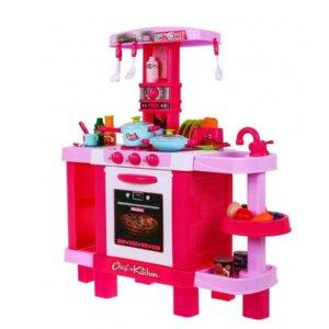 Bērnu rotaļlietas, rotaļlietas mietenēm, rotaļu virtuve, virtuves komplekts meitenēm, rotaļu cepeškrāsns, rotaļu izlietne