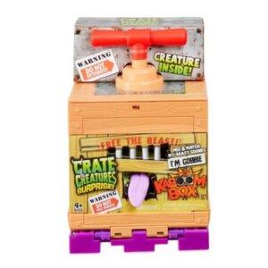 Bērnu rotaļlieta, KABOOM BOX, monstrs kastē, Gobbie pieejams uzreiz, rotaļlieta zēniem