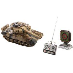 RC radiovadāms tanks ar šaušanas iespēju, rotaļlietas bērniem.