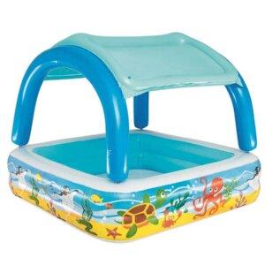 Bērnu piepūšamais baseins ar mīkstu dibenu